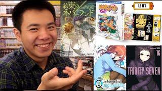 Quels Manga Acheter en Août ?  La réédition de Naruto et Pleins de Mangas qui se terminent