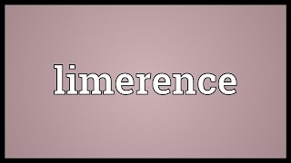 Limerence Meaning