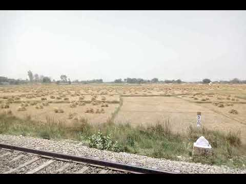 A Rural field view from Pawan express