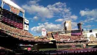 Idina Menzel National Anthem - Star Spangled Banner MLB All-Star Game - Target Field
