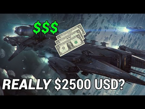 The TRUE value of ship pledges in Star Citizen and how much they are actually worth in-game