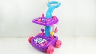Игровой набор в тележке, обзор игрушки / play set in the cart