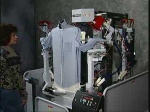 ajax shirt press machine