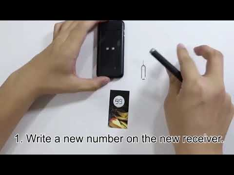 How To Use  T112 ---- Wireless Restaurant Paging System Queue System