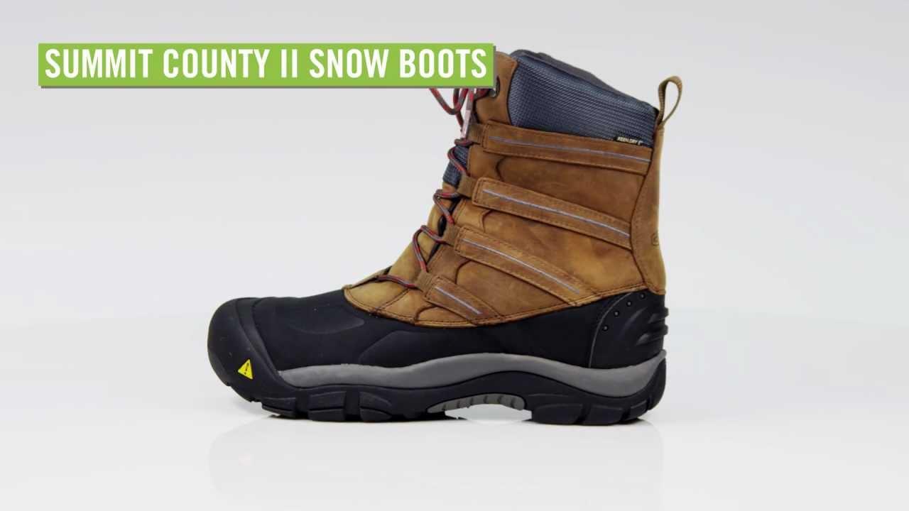 1d42683c23f Keen Men's Summit County II Snow Boots