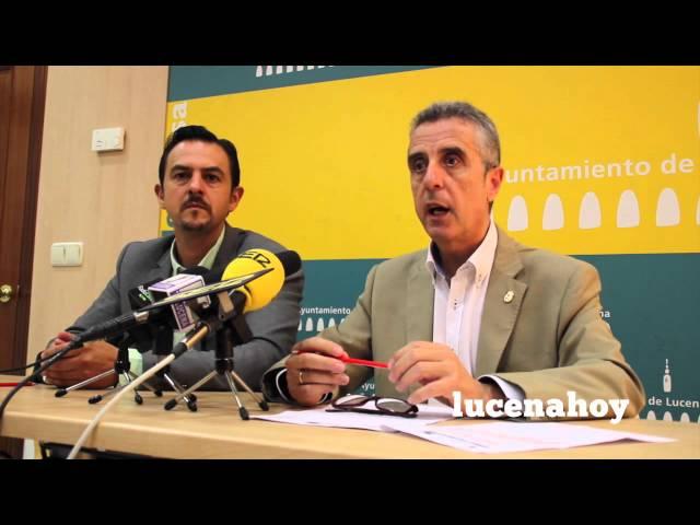 VÍDEO-NOTICIA: Juan Pérez es elegido presidente de la Mancomunidad de la Subbética