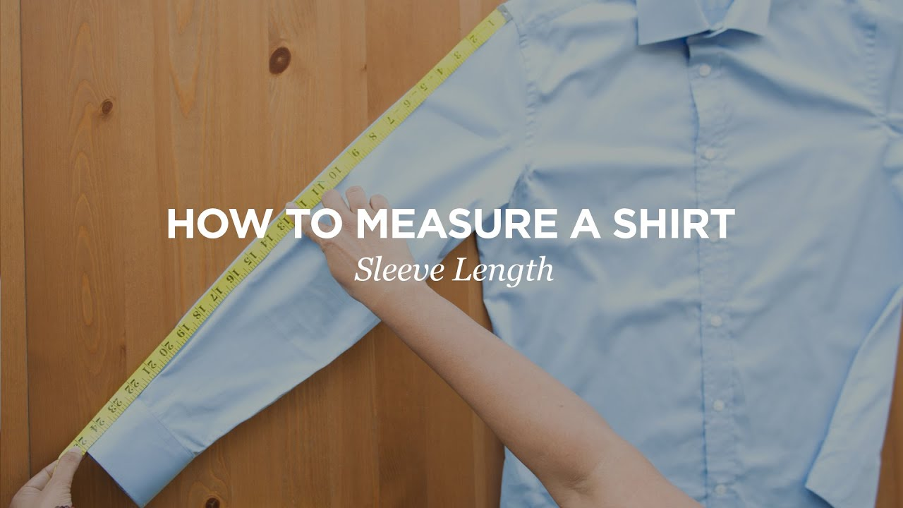 Next, measure your sleeve length. Before measuring, raise your arm and bend it slightly at the elbow, as if you are looking at your watch. Step 4. Start at the top of the centre back, just below the collar. Place the tape measure here and measure to the peak of the shoulder, then note down this measurement.