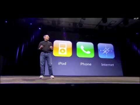 Steve Jobs Introducing The iPhone At MacWorld 2007