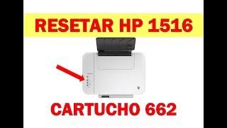 Impressora hp multifuncional não reconhece o cartucho, faça o reset