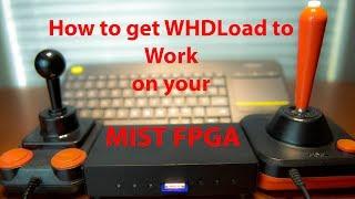 v2Movie : Mister FPGA Board Emulating ATARI 800 XL Computer