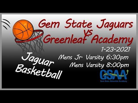 GSAA Jaguar Mens Basketball vs Greenleaf Friends Academy