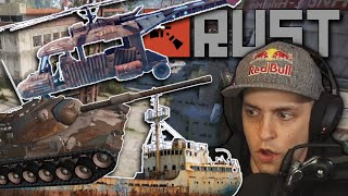 Fighting Ships, Tanks, and Helicopters in RUST - Rust (Ep. 3)