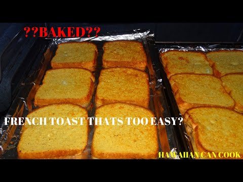 HOW TO BAKE FRENCH TOAST (FRENCH TOAST MADE EASY)/Times Are Hard Recipes