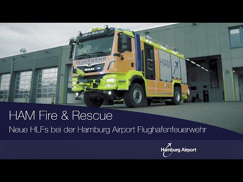 Zwei neue HLFs der Flughafenfeuerwehr Hamburg Airport