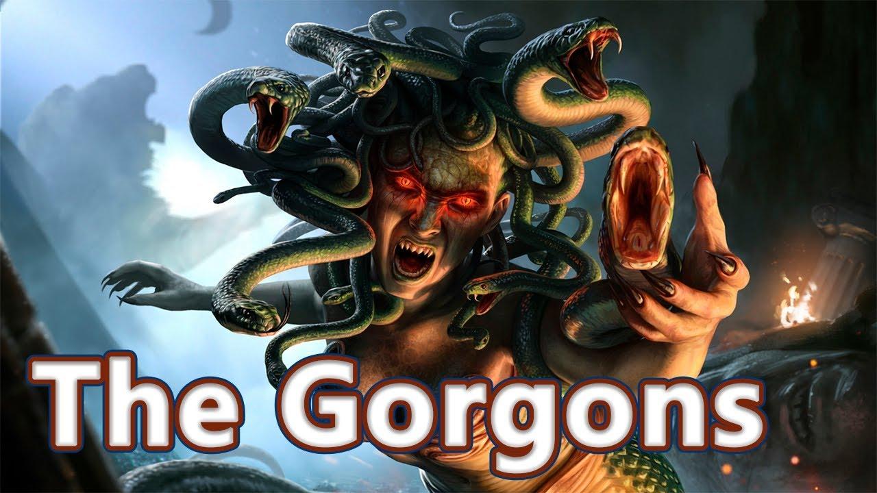 Download Medusa, Stheno and Euryale: The Gorgons - Mythological Bestiary #08 See U in History