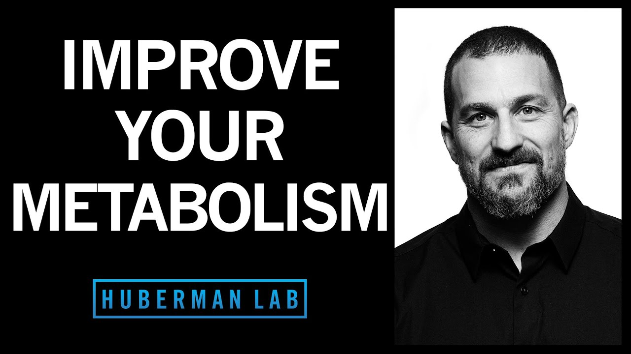 How to Control Your Metabolism by Thyroid & Growth Hormone | Huberman Lab Podcast #17