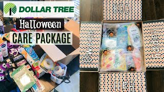 DOLLAR TREE DIY | HALLOWEEN CARE PACKAGE (COLLEGE STUDENT)