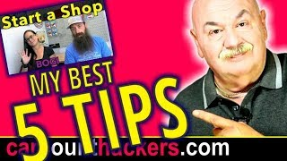 5 Tips on Starting an Automotive Repair Shop -Auto Repair Shop Marketing