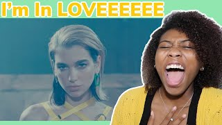Dua Lipa - Don't Start Now (Official Music Video) REACTION