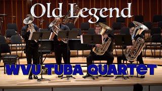 """Old Legend"" by Etienne Crausaz, WVU Tuba Quartet"