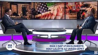 Irán 3 nap után elismerte, hogy lelőtte az ukrán gépet
