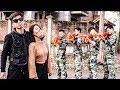 Nerf War: Marines Teams ⚡ Assassin's Girl Nerf Guns Bodyguard Group Rescue Friend Nerf Movie