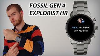 Fossil Gen 4 Explorist HR SmartWatch Review