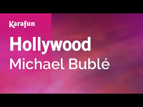 Karaoke Hollywood - Michael Bublé *