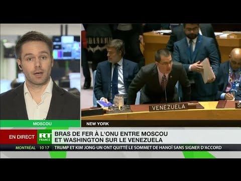Venezuela : à l'ONU, les projets de résolution russe et américain se font face