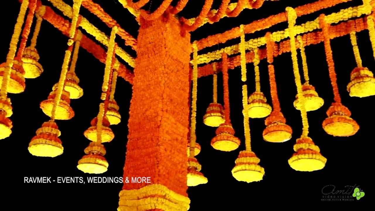 Indian Wedding decor at a palace wedding