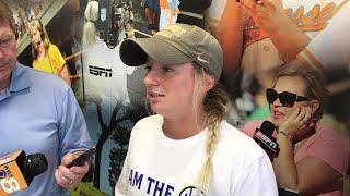 Aubrey Leach: Women's College World Series is 'team goal'