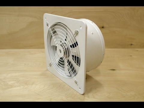 Мощный 2850 м3/час вытяжной вентилятор с обратным клапаном PRO-300