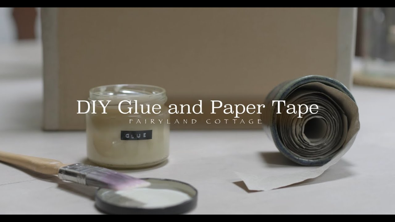 DIY Glue and Paper Tape   -   Zero Waste + Natural