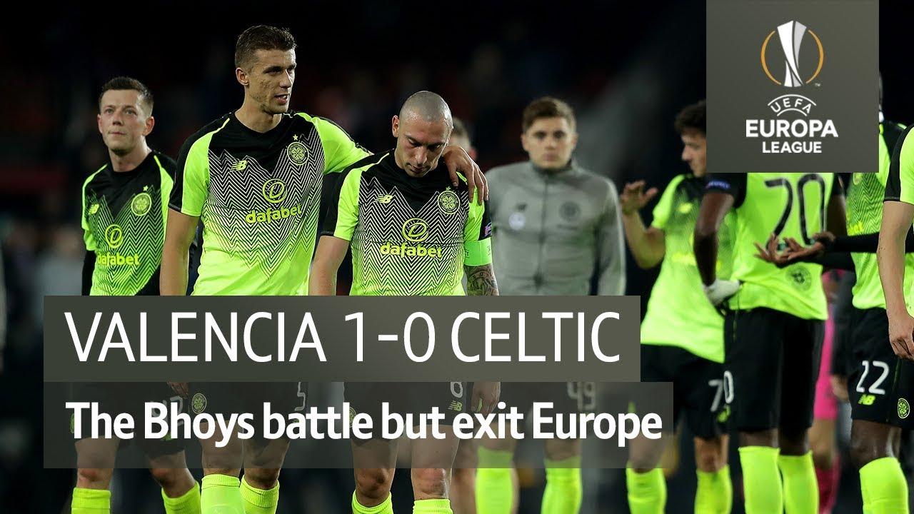Valencia Vs Celtic 1 0 Uefa Europa League Highlights Youtube