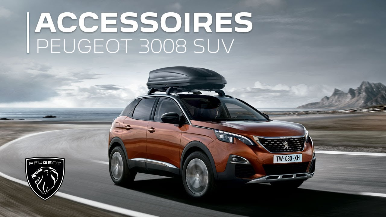 peugeot 3008 suv accessoires youtube. Black Bedroom Furniture Sets. Home Design Ideas