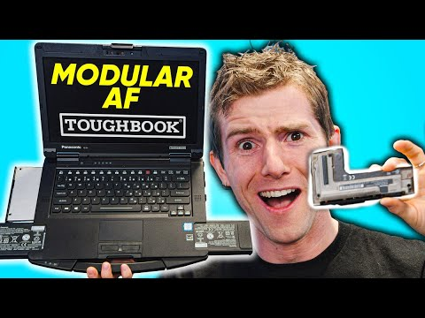 The CRAZY Upgradeable Laptop