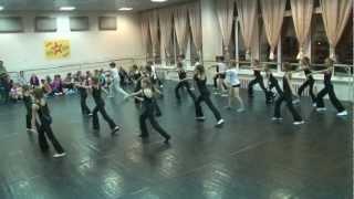 Открытый урок Танц-Лагеря «Зима-2013»