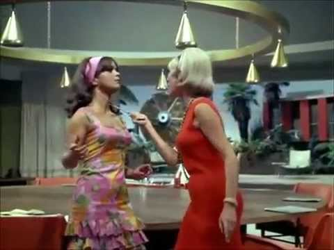 The Man from U.N.C.L.E.  A fight between Janet Leigh and Leticia Roman