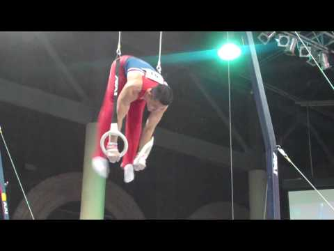 Joshua Glenn - Still Rings - 2010 Winter Cup - Day 1