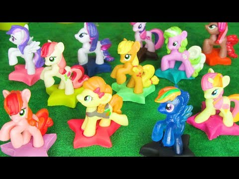 Learn Colours with My Little Pony and Friends