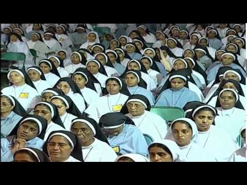 Fr Augustine Vallooran VC  Eucharistic Adoration   for  religious sisters (Malayalam) Divine TV...