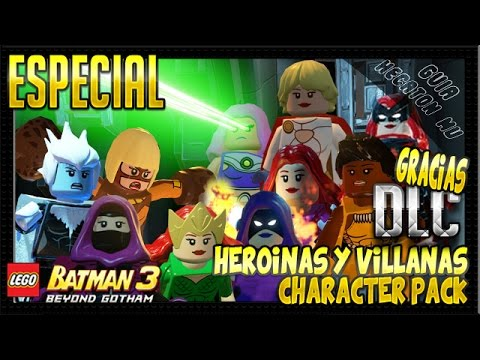 Lego Batman 3 Dlc Heroines And Villainesses Character Pack