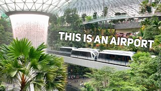 Tour of Singapore Changi Airport's Jewel
