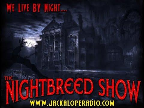 Mike GhostGetter & Laura Maxwell : NightBreed Show - Jackalope Radio, Dallas, USA.