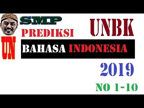 PREDIKSI UNBK BAHASA INDONESIA SMP 2019 No 1   10