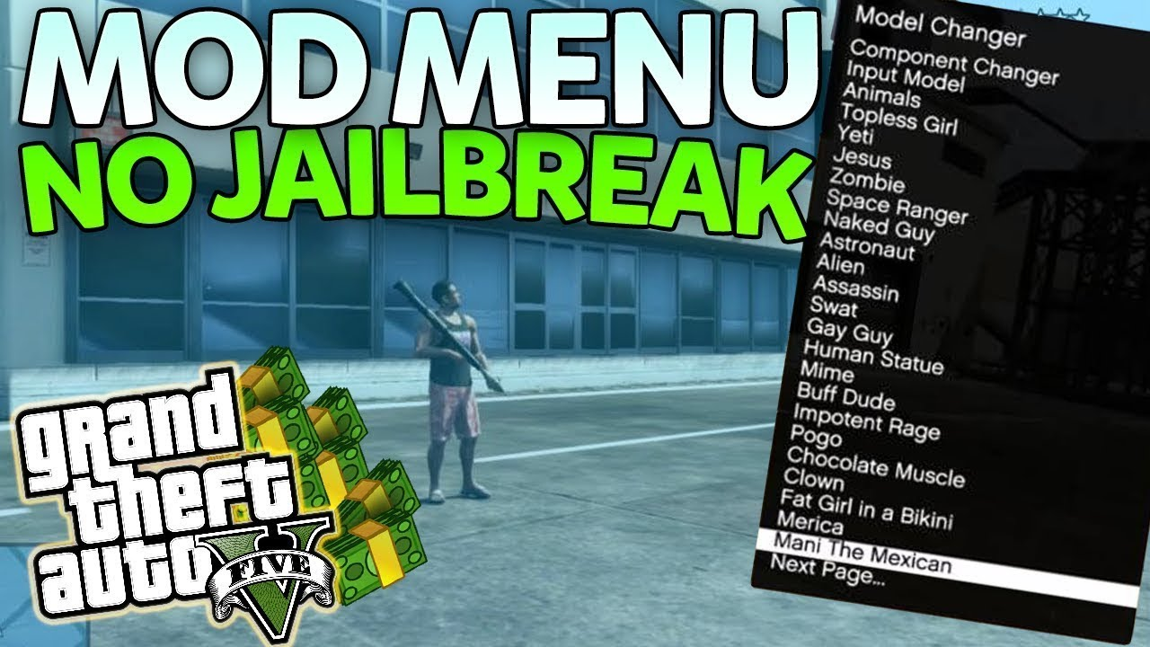 Gta 5 Mod Menu Xbox One