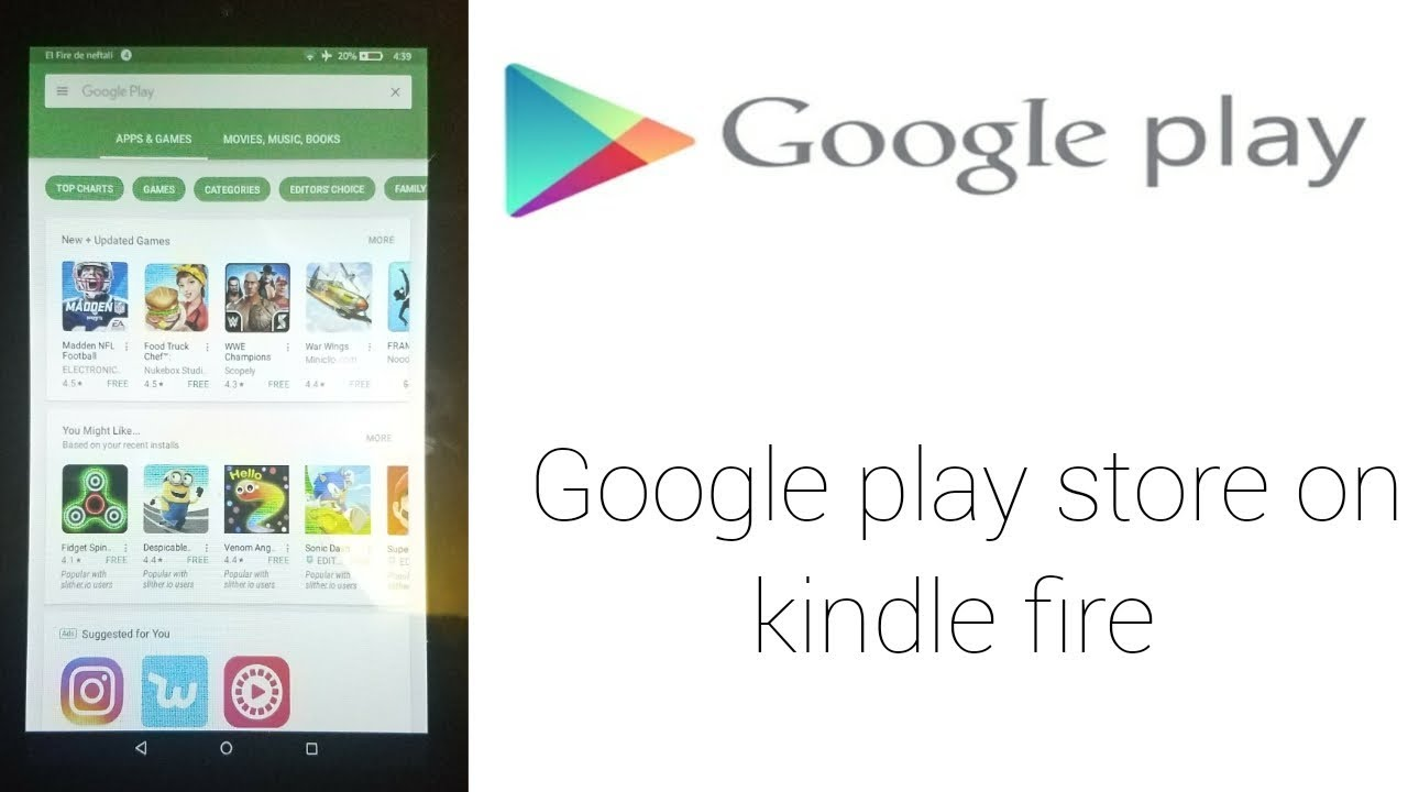 google play store for kindle fire