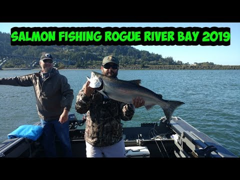 Rogue River Bay Salmon Fishing | Oregon | 2019