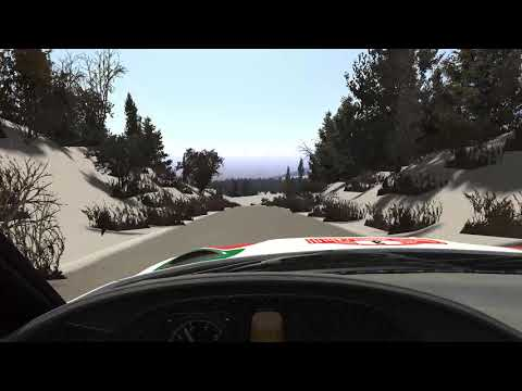 [Procedural Rally] Test 2: Monaco Rally + Direct KN5 Export