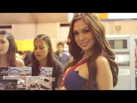 The Girls of Manila International Auto Show 2013